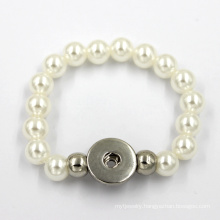 Fashion Jewelry Silicone Bangle Charms Pearl  Bracelet
