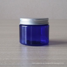 100g Pet Jar Blue Klarglas Kosmetisches Glas
