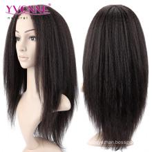 2016 mode cheveux humains perruque avant de lacet
