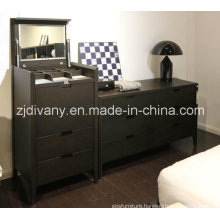 European Style Wooden Furniture Bedroom Wooden Cabinet (SM-D34)
