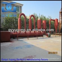 Yugong máquina de secagem de tubo de fluxo de ar, máquina de secador de serragem