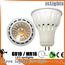 MR16 Gu5.3 lámpara del proyector LED de 12V SMD LED con ce (MR16-6W)