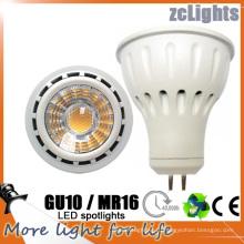 MR16 Gu5.3 12V SMD Светодиодный прожектор Светодиодная лампа с Ce (MR16-6W)
