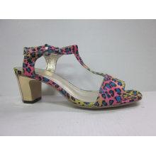 Новый дизайн дамы сандалии Чанка (HCY03-088)