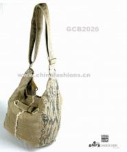 Canvas bag in latest design&LATEST bag&latest design&high quality bags&canvas bag&leisure bag&handbag:GCB2026--latest item for U