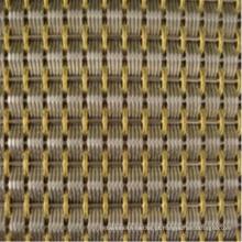 Aço inoxidável Architectural Decorative Wire Mesh para Revestimento de Parede