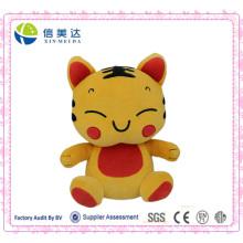 Lucky Tiger Soft Toy Boneca de pelúcia de design personalizado