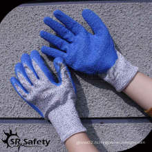 SRSAFETY 13 синих перламутровых перламутровых перчаток / антирежущих перчаток / защитных перчаток с синим разрезом