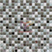 Wall Paper Like Glass Mosaic Tile (CSR078)