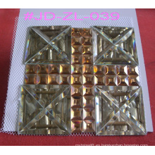 Cruz de estilo de la iglesia de decoración del espejo de azulejos