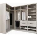 luxury wooden walk in closet furniture