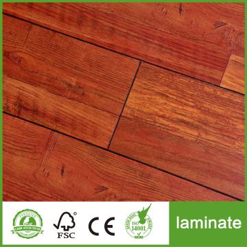 Facecraped HDF AC4 Laminate Flooring 10mm