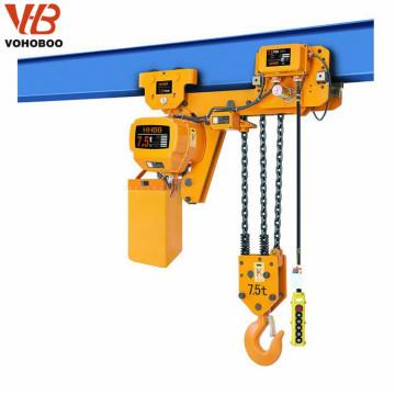 precio al por mayor para la capacidad eléctrica de la grúa del alzamiento de cadena 5 toneladas