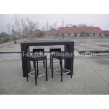 Barra de Negro Color tienda Rattan muebles
