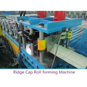 Alumínio Ridge Cap Rolling Machine