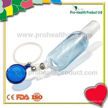 Empty hand sanitizer bottle with silicone ring(pH009-067A)