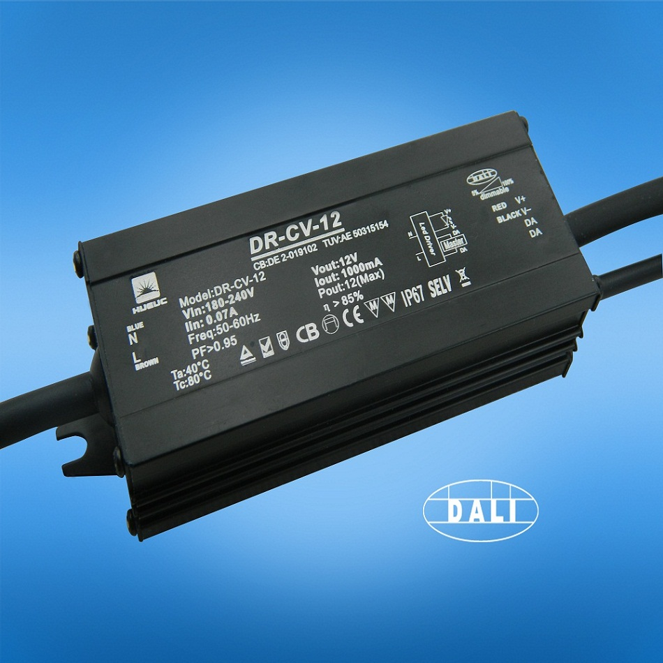 Outdoor Led Driver 12w Dali Dimming Waterproof Led Driver