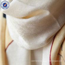 Großhandel neue Design chinesischen alten Charakter Geschenk Bestellung Jacquard 50% Wolle + 50% Seidenschal Stola SWW792