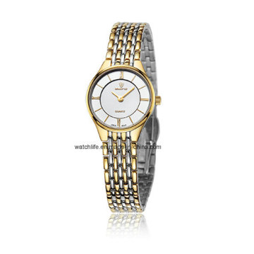 Fashion Watch Ultra-Thin Uhr Quarz Paar Armbanduhr
