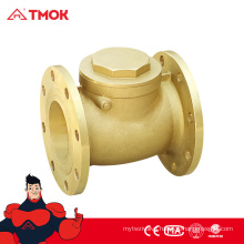 Double Flange Dual Plate Check Valve High Quality Flange Brass Swing Check Valve