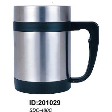Sdc-480 18/8 Tasse à double paroi en acier inoxydable Sdc-480