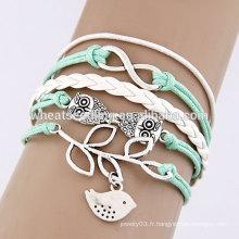 Bracelets mexicains à la main multicouches