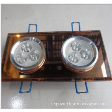 Recessed led down light/crystal light/ceiling light with 3W epistar