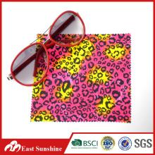 Kundenspezifisches Logo Microfiber Sonnenbrille Tuch ECO Haut