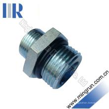Adaptateur hydraulique de raccord de tube ajustable métrique / non un filetage (1CO)