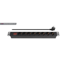 Fast Delivery for Pdu (Power Distribution Unit) 8 Way European PDU with display export to Spain Suppliers