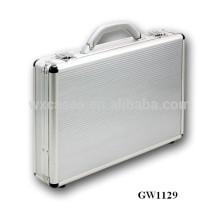 caja de aluminio fuerte y portátil del ordenador portátil fabricante de China, con opciones de color diferentes