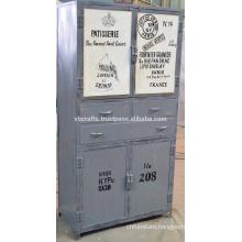 vintage retro loft cabinet