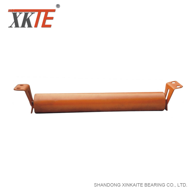 Mining Machinery Flat Return Idler Spare Parts