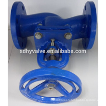 hot sale PN25 ductile iron globe valve