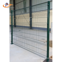 Pvc Coated 3d Fence Panels Wrought Iron Garden Fence Welded Wire Mesh