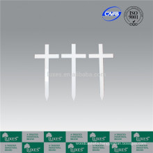 LUXES Standard Grave Markers Cheap Cross For Funeral
