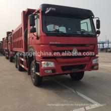 Nuevo camión volquete / volquete de Sinotruck 336HP HOWO 6 * 4 for sale