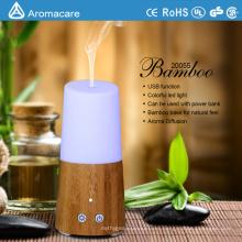 Aromacare 2017 Home Ultrasonic Mini Bamboo Aroma Diffuser