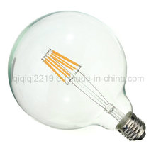 G125 Clear 220V 5W LED Filament Bulb