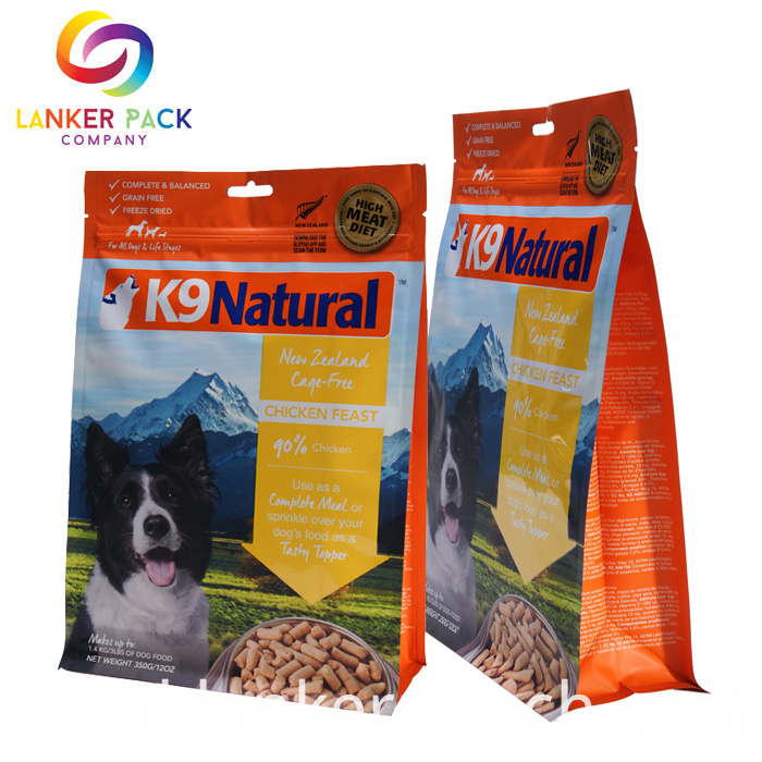 Proof Custom Printed Flat Bottom Animal Feed Bags