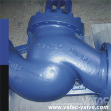 Hw Cast Steel Bellow Sealed Globe Valve with RF Flange