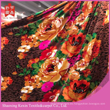 Barato venta de modelo único de franela de tela de lana y manta