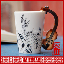 Tasse de café en violon