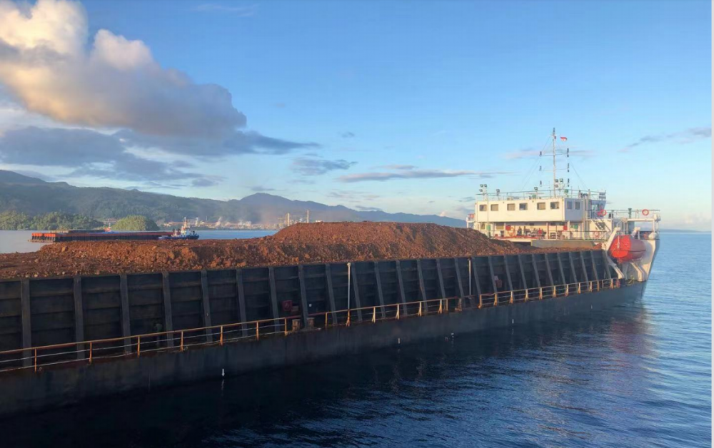 Second Deck Loading Barge
