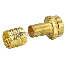 "1/2"" Brass female coupler"