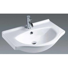 Top Mounted Bathroom Ceramic Vanity Basin (1070)