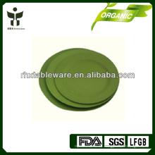 Juegos de placas de fibra de bambú biodegradables