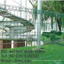 Panneaux de clôture en treillis soudés BRC