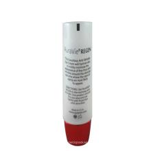 Tubo de crema para ojos transparente D25mm con revestimiento ovalado