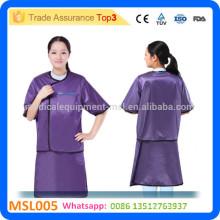 MSL005-i El CE aprobó el precio barato del traje del cuerpo del hospital del juego del cuerpo delantal del plomo